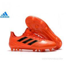 adidas ACE 17.1 Leather FG S77043 MENS Solar Red Solar Orange Core Black  SALE FOOTBALLSHOES 095c60a8995d8