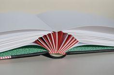 álbum con escartibanas -  Cactus Rojo Verde by ensoñación#bookbinding