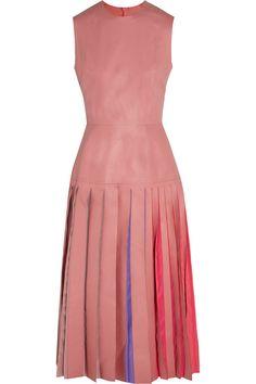 ROKSANDA KINVER PLEATED LEATHER DRESS £1,207.50 http://www.theoutnet.com/product/774505