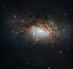 NGC 3597 Hubble Image of the Week: A Galactic Mega-Merger 1/11/16