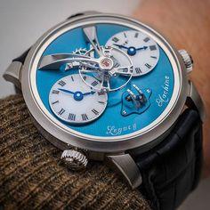 What's On Your Wrist? — Obligatory wristshot, the MB&F; Legacy Machine 1... #mbandf #legacymachine #lm1 #movement #horlogerie #hautehorlogerie #timepiece #luxury #watches #montres #reloj #watchmania