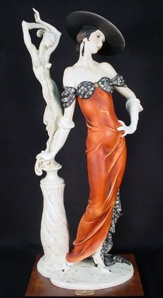 "1992 Ltd Ed Giuseppe Armani Figurine ""Fascination"""