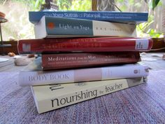 Check out my favorite yoga books and why. These are worth noting so get a pencil and paper ready yogis!