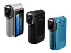 Sony outs new waterproof HDR-GW77V Handycam,