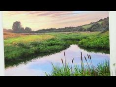 #59 HOW TO PAINT A RIVER BANK | OIL PAINTING | MICHAEL JAMES SMITH - YouTube
