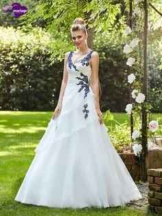 Robe de mari e avec une touche de noir collection 2017 for Magasins de robe de mariage charleston sc