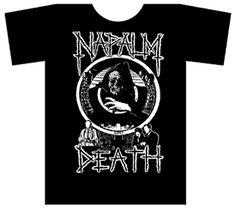 NAPALM DEATH ''LIFE?'' T-Shirt $14.90 #punk #clothing #music #shirts www.drstrange.com