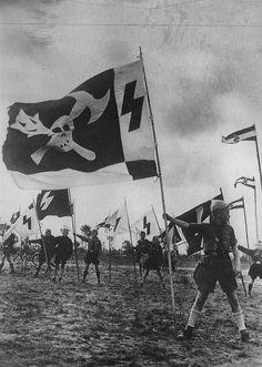 Nazi youth at camp near Berlin, 1940.