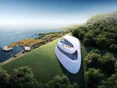 Prototype villa for golf and spa club, Dubrovnik by Zaha Hadid Architects #architecture - ☮k☮