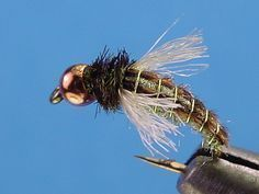 Beadhead Z-wing caddis is a very effective emerger/nymph pattern.