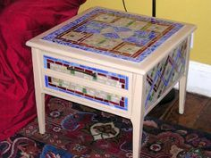 Independent Artist Studios #vintagemaya #mosaic #handcraft #home decor #furniture