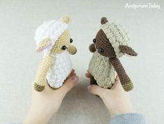 Cuddle Me Sheep amigurumi pattern by Amigurumi Today