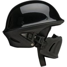 Bell Rogue Open Face Harley Cruiser Motorcycle Helmet - Black / Large : Amazon.com : Automotive