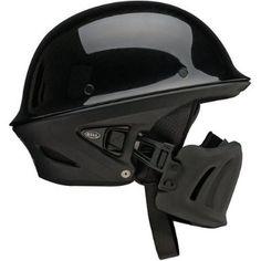 Bell Rogue Open Face Harley Cruiser Motorcycle Helmet - Black / Large : Amazon.com : Automotive
