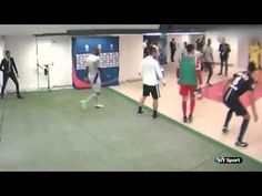 Brandao Headbutts Thiago Motta   [18/08/2014]. . http://www.champions-league.today/brandao-headbutts-thiago-motta-18082014/.  #Thiago Motta