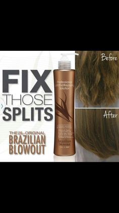 Get your Free Brizilian Split Ends Treatment for FREE, when booking another service!! Call or text to book your appointment. .. 909.910.0780