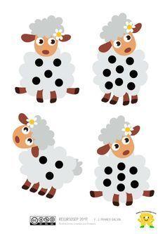 """¡Hola! Hoy seguimos con el juego """"Cada oveja con su pareja"""" que presentamos en otra entrada anterior. El material de esta vez es idéntico al anteriormente publicado pero sustituyendo lo…"""