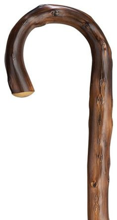 Mens Congo Chestnut Crook Cane Men's crook handle, genuine Congo chestnut shaft, 36 inches long, scorched. Imported from Germany. 36 inches is the standard length. We can also customize the length to