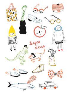 VO | Valérie Oualid : Agent d'illustrateurs | Marie Assénat | All