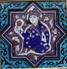 . Turkish Art, Turkish Tiles, Glazed Tiles, Panel Art, Central Asia, 14th Century, Tile Art, Traditional Design, Ceramic Art