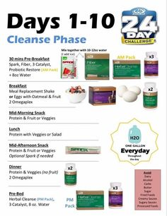 Feeling tired or sluggish Advocare cleanse is the way to go! Regain your energy and jump start your weight loss is part of Advocare diet - Advocare Meal Plan, Advocare 10 Day Cleanse, Advocare Diet, Advocare 24 Day Challenge, Detox Challenge, Challenge Ideas, Advocare Recipes Days 1 10, Health Challenge, Healthy Eating Challenge