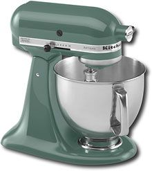 The KitchenAid Series Tilt-back Head Stand Mixer is incredibly versatile and more than a mixer. This model has a motor, 5 quart stainless steel bowl with comfort handle, and a tilt-back mixer head design that provides easy access to bowl and beaters. Artisan Mixer, Kitchenaid Artisan Stand Mixer, Kitchenaid Mixer Colors, Kitchenaid Standmixer, Hazelnut Meringue, New Countertops, Stainless Steel Bowl, Head Stand, Kitchen