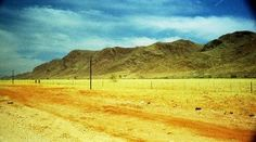 Across the Namib in a Mobile Home