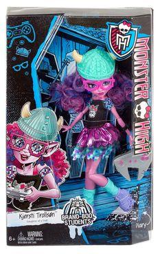 Monster High Brand-Boo Kjersti Trollson Doll