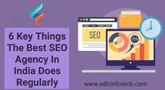 Know the key things that the best seo agency in india does regularly.  #seoagencyinindia #seocompanyinindia #digitalmarketingagencyinindia #digitalmarketingcompanyinindia #bestcompanyforseo #offshoreseoagencyinindia #sdlcinfotech Top Digital Marketing Companies, The Marketing, Online Marketing, Best Seo Company, Good Company, Seo Consultant, Seo Agency, Marketing Techniques, Marketing Professional
