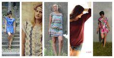 Früchtchen Adult - Schnittmuster und Anleitung XS-XL, Tunika, Shirt, kurzes Kleid nähen - auch als Kinderversion erhältlich