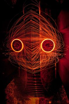 Psychological Light Paintings by Nicolas Rivals