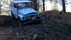 Headquake's RC - #194 (FJ45-1st ride) Oct.24 2014 Wood build shots at end of vid