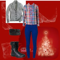 A fashion look from December 2012 featuring cashmere cardigans, blue blouse and blue jeans. Browse and shop related looks. Cashmere Cardigan, Blue Blouse, Blue Jeans, Fashion Looks, Polyvore, Christmas, Shopping, Xmas, Navidad