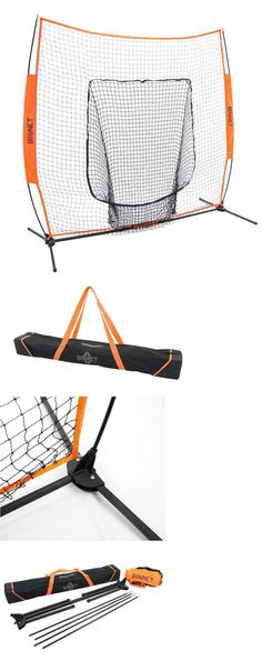Batting Cages and Netting 50809: Bownet Big Mouth X Baseball/Softball Portable Hitting Training Net BUY IT NOW ONLY: $149.99