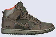 Kozik x Nike SB Dunk High