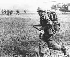 173rd Airborne Brigade during a ground operation