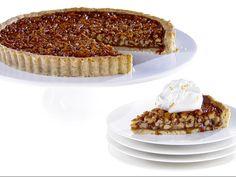 Walnut Rosemary Tart with Orange Chantilly Cream recipe from Giada De Laurentiis via Food Network