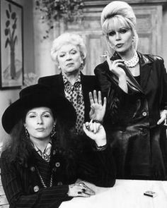 Absolutely Fabulous. One of the best British comedies ever created.