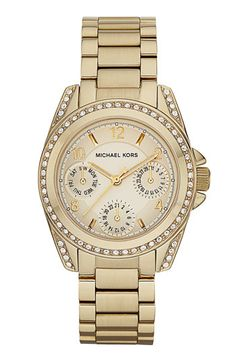 @Lauren Cannon its called BLAIR! ..making it mine. Michael Kors 'Blair' Multifunction Watch available at #Nordstrom