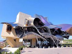Hotel Marques de Riscal, Elciego, Spain by Frank Gehr