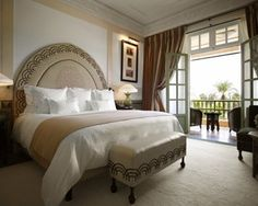 La Mamounia #Marrakech #Marocco #Luxury #Travel Deluxe Agdal Room