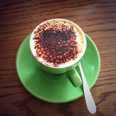 #Coffee from my favourite #cafe Little Henri in Thornbury