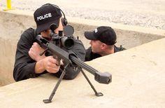 Barrett Model 99 in action