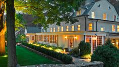 The Bedford Post Inn: Richard Gere and Carey Lowell opened this eight-room upstate getaway in 2009.