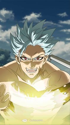 Seven Deadly Sins Anime, 7 Deadly Sins, Hot Anime Boy, Cute Anime Guys, Anime Films, Anime Characters, Ban Anime, Dibujos Anime Chibi, Seven Deady Sins