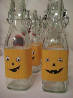 Pumpkin bottles