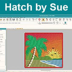 85 Best Hatch embroidery images in 2018 | Embroidery software