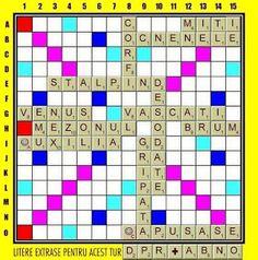 PĂTRĂŢICĂ-blog-Petrică-Aidimireanu: SCRABBLE: Partida 11 - Turul 13 Scrabble, Blog