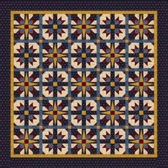 Americana Star Quilt Pattern