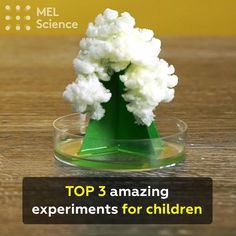 TOP 3 amazing experiments for children
